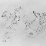 Géricault-Pferderennen
