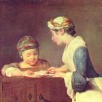 Chardin - Die junge Lehrerin